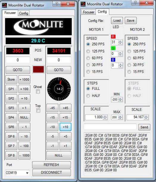 Stepper motor pps for Stepper motor control software
